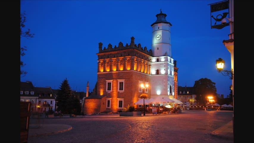 Przytulne mieszkanie w centrum - Sandomierz - Leilighet