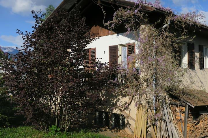 Appartamento spazioso e panoramico in casa rurale - Romeno - Appartement