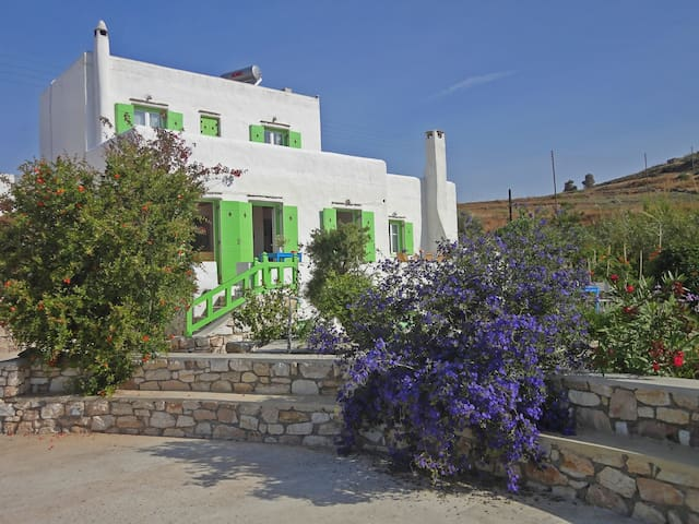 Villa Armonia: Splendid view to the Aegean sea - Piso Livadi
