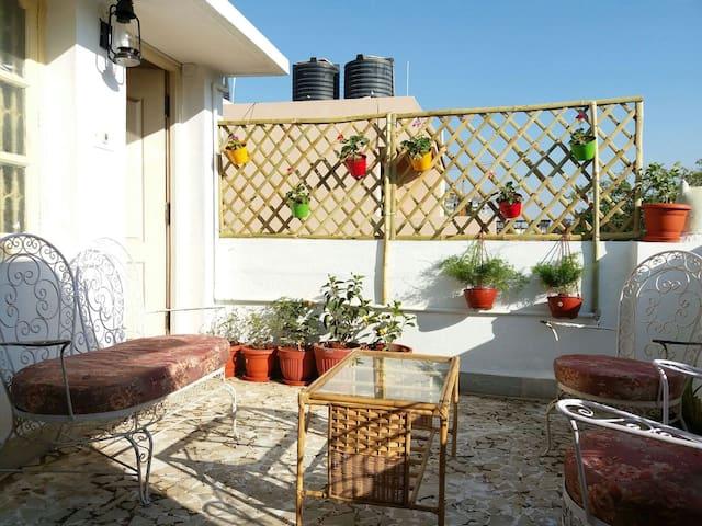 Studio with garden terrace - Bengaluru - Huoneisto