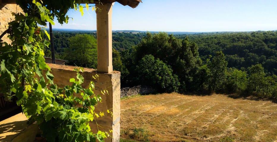 Propriété de charme en Quercy - Lot - Aveyron - Salvagnac-Cajarc - Ev