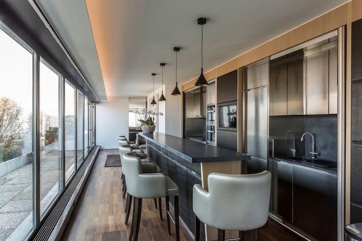 Brand New 4 Bedroom Luxurious Penthouse - Thônex - Pis