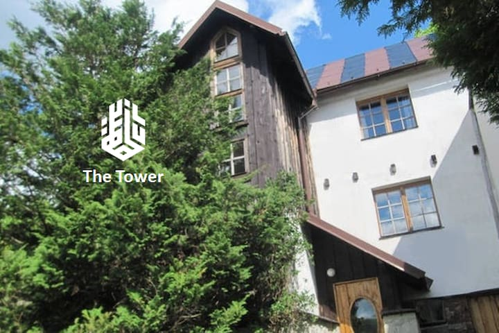 """The """"Tower"""" -  Unique Nature House - Przesieka - Hus"""