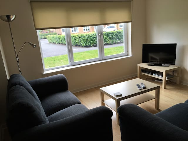 Bright, spacious riverside flat with parking - Glasgow - Appartement