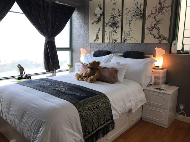 Relaxing sea views mini penthouse - Hong Kong - Appartement