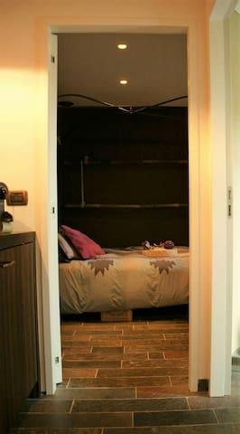 Genieten in Cocoon kamer - Kruishoutem - Apartamento