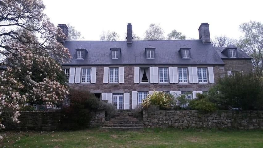 Magnifique propriété du 17 è meublée - Villedieu-les-Poêles - Hus