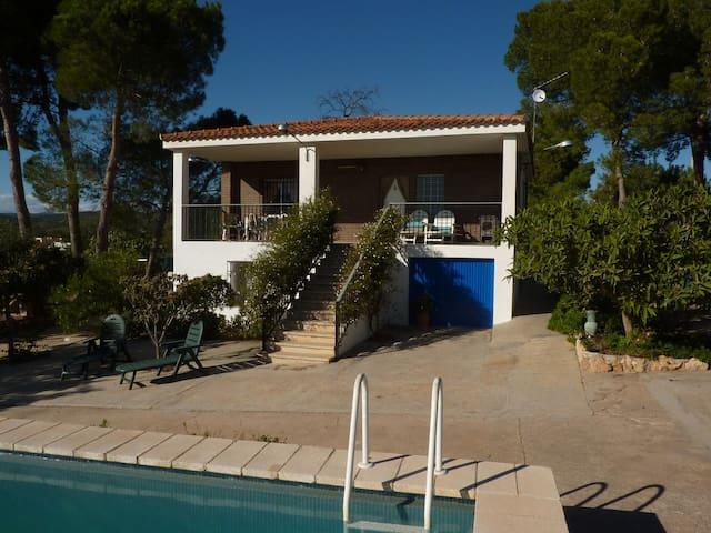 Villa with Pool near Sierra Calderona Nature Park - Llíria