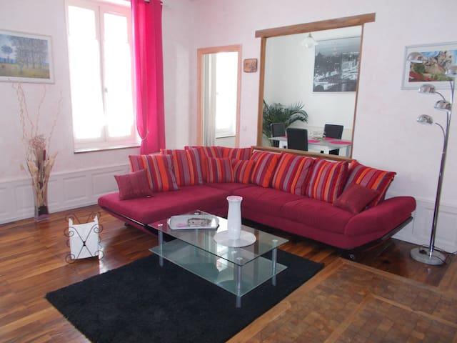 Bel appartement spacieux en centre ville - Gap - Lägenhet
