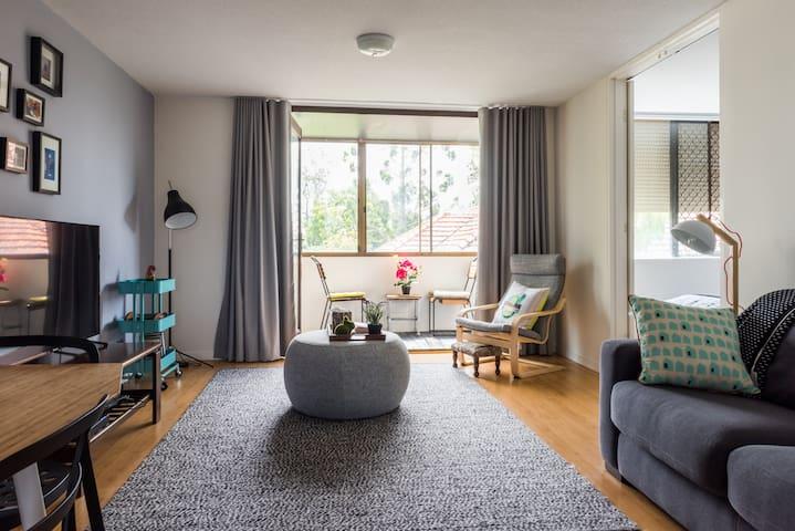 Trendy Teneriffe Brisbane Apartment - Newstead - Leilighet