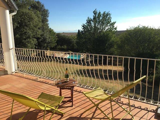 8 bed villa. Winter pricing reductions - Saint-Martin-le-Vieil - Villa
