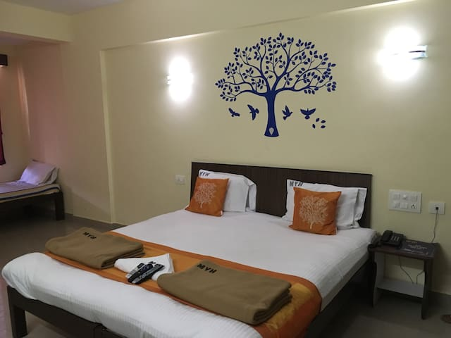 Cozy rooms with attached bath - Manipal - Lägenhet