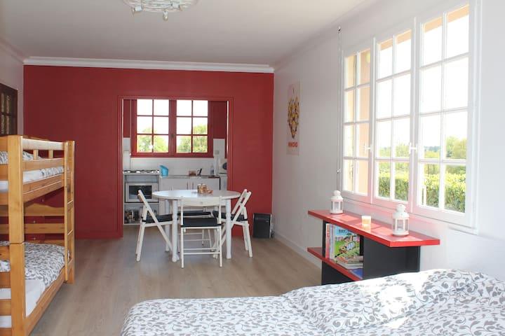 Beau studio rénové à 5 min du Puy du Fou - Saint-Malô-du-Bois - Lägenhet