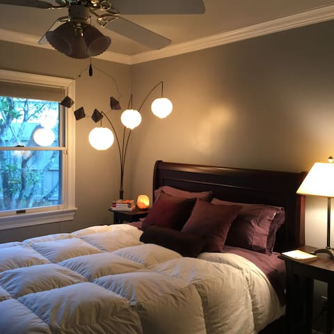 Weekend Getaway Guest Room water view on the bayou - Breaux Bridge - Pension