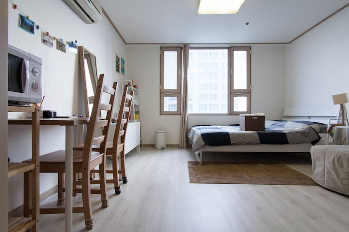 ★[SuperHost] Clean Studio near Metro. Safe & Quite - Gangdong-gu - Leilighet