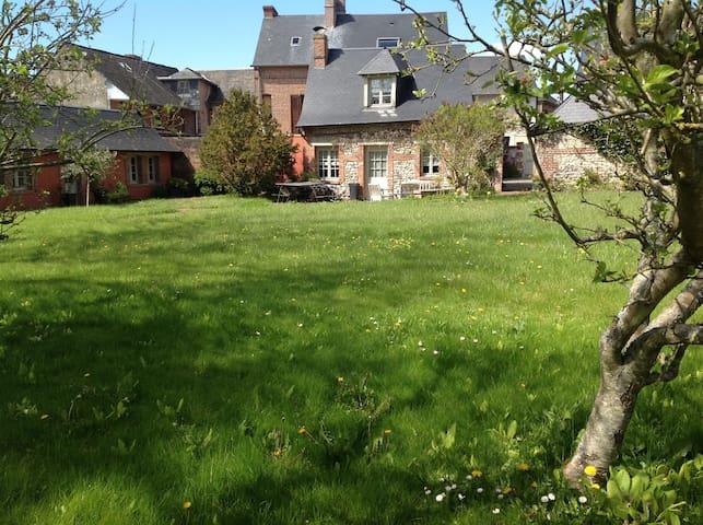 Maison de caractère  Beaumont en Auge 12 pers. - Beaumont-en-Auge - Casa