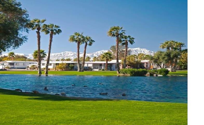 Resort Vacation Home/Hot Springs/Restaurant - Desert Hot Springs - 度假屋