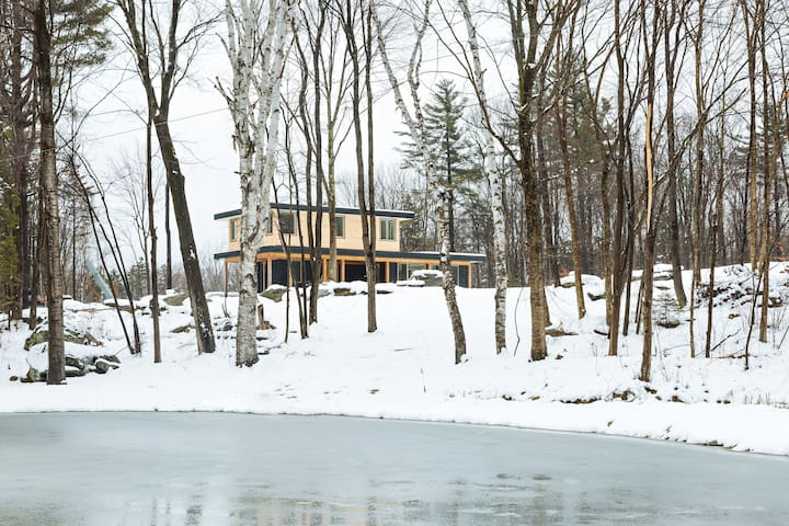 Secluded Modern Rustic Home - Lincoln - Casa