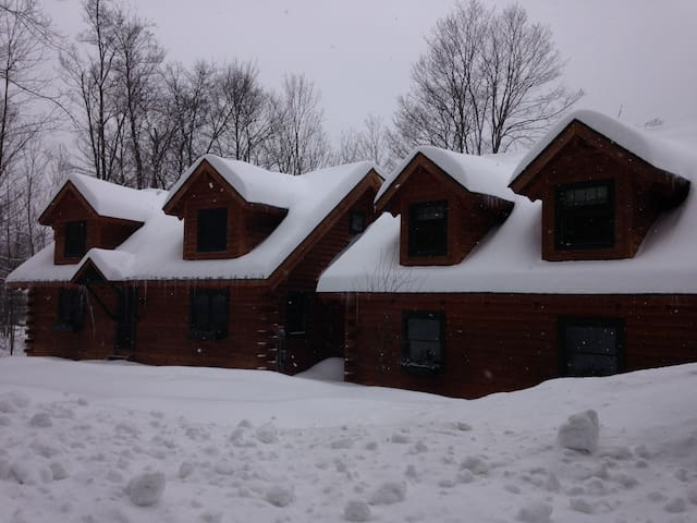 LOG HOME APT IN WOODSTOCK VILLAGE - Woodstock - Daire