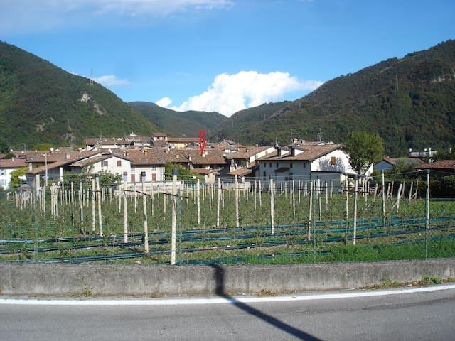 Attico in centro storico vicino Salò Lago di Garda - Roe' Volciano - Appartement