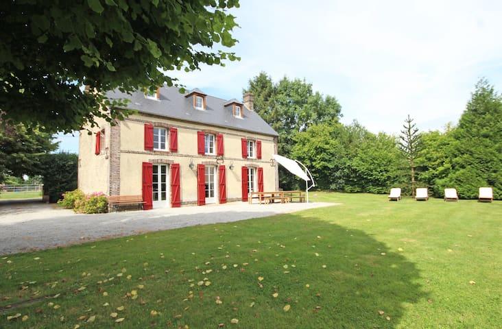 Lovely and comfortable cottage Le Perche Normandy - Saint-Ouen-de-Sécherouvre - Huis