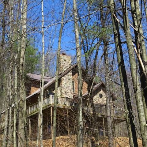 Secluded cabin, close to PSU and lake. - Bellefonte - Cabaña