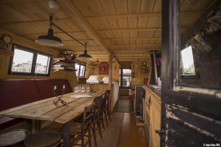 Logement insolite, bateau traditionnel de Loire - Saumur