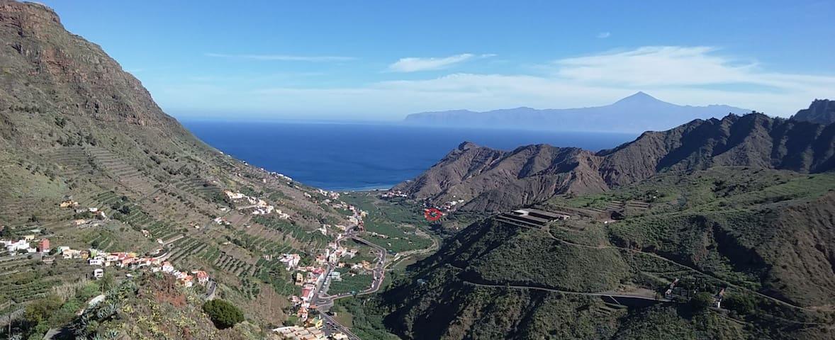 Casa Rural Llano Campo I  en La Gomera Canarias - Hermigua - Villa