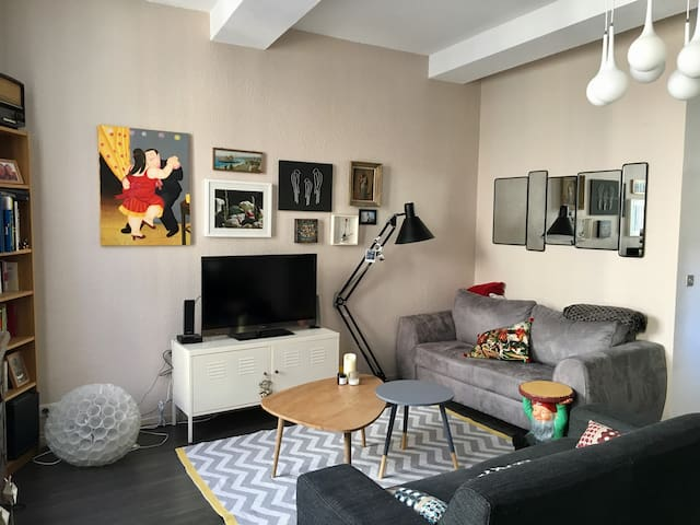 Appartement cosy Centre ville - 80m2 - 2 chambres - Castres - Daire