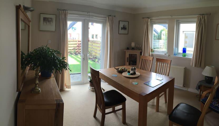 Warm, friendly home - Alyth - Hus