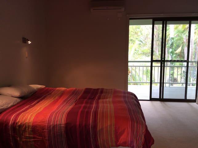 Queen Bed+Ensuite Acreage on river! - Noosa North Shore