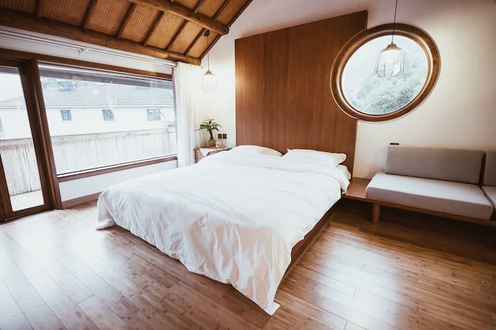 山吹民宿 #5 - 清晨穿透龙井茶树的阳光房 - Hangzhou - Bed & Breakfast