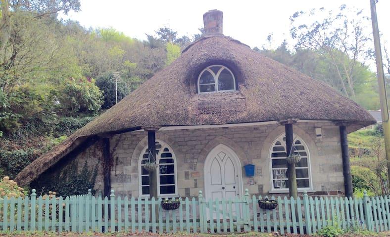 Romantic lodge in delightful creek side village - Cornwall - Hus
