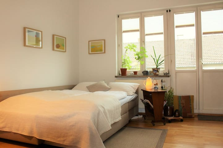 Room with balcony / zentral und ruhig - Kassel - Daire