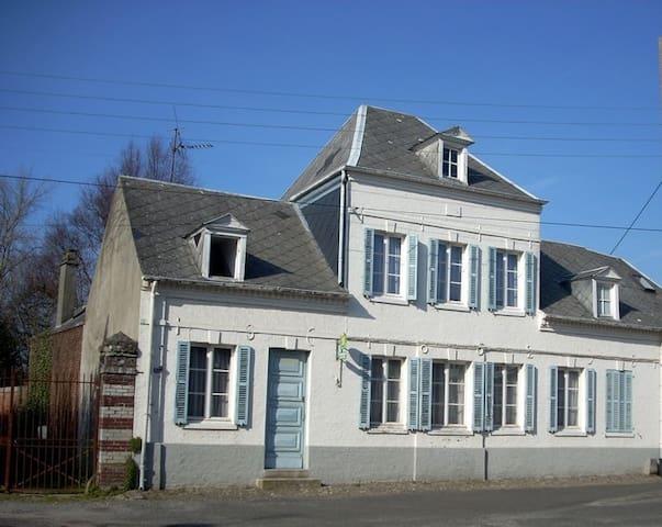 Chambres d'hôtes proche Baie de Somme, falaises - Béthencourt-sur-Mer