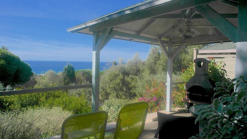 Studio Vue Mer à 250 mètres plage - Olmeto - Departamento