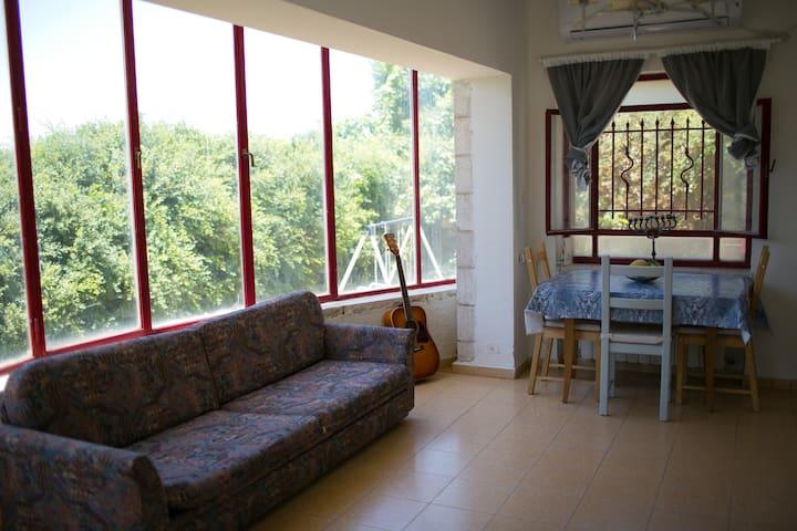 Beautiful studio in the hills - Tzur Hadassah - Apartamento