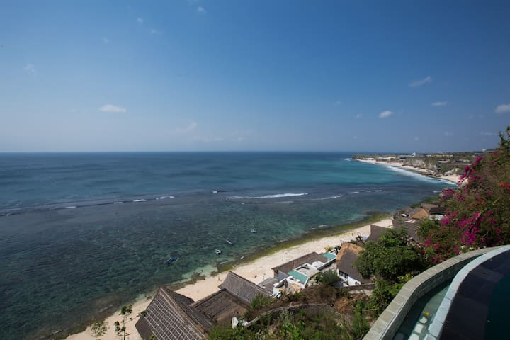 Ocean Cabins above Dazzling Cliff & Beach - South Kuta - Departamento