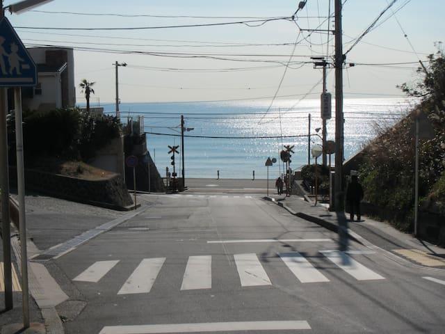 Surf town・inn 1 [波・街・宿] Kamakura 镰仓 江之岛 箱根 日本的房子体验 - Kamakura-shi - Rumah