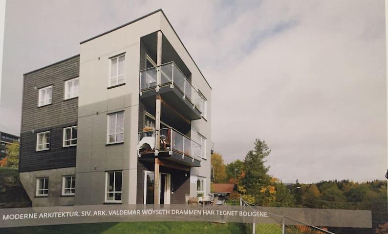 Moderne leilighet i Asker - Asker - Daire