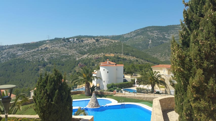 Apartment with fantastic sea and mountain views - Alcossebre - Lägenhet
