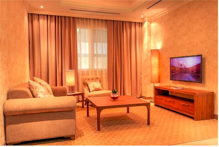 Cozy Fully Furnished 1BR Apartment in Al Sadd - Doha - Appartement