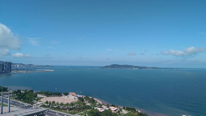 紧靠威海公园的海景房,海湾假日公寓 - Weihai Shi - Departamento