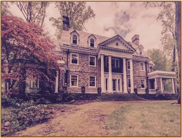 Houstonia Mansion - Nether Providence Township - Huis