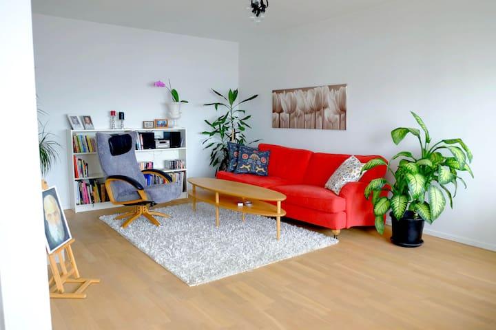Nice apartment, 10min to Stockholm City - Sundbyberg - Byt