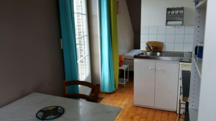 Studio meublé proche zi - La Cerlangue - Apartment