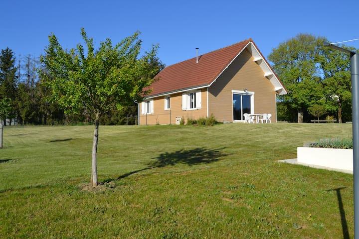 Maison Ossature bois - Cusey - Feriehjem