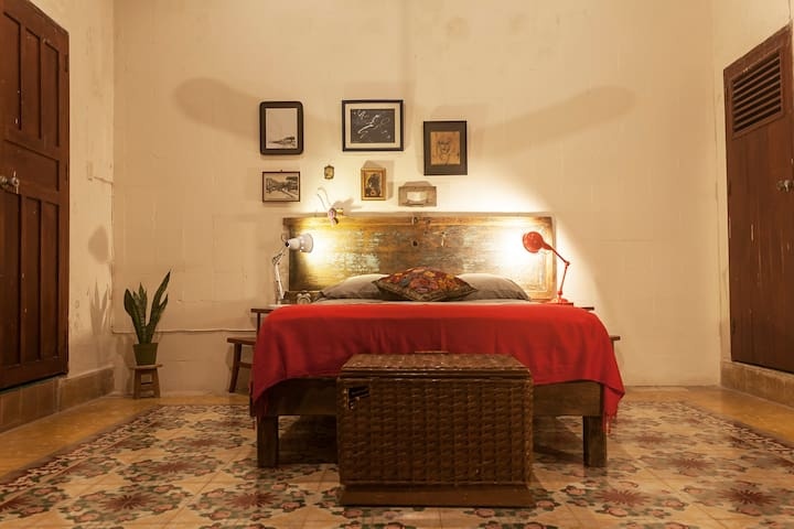 Beautiful Room in Colonial House in Campeche - Campeche - Huis