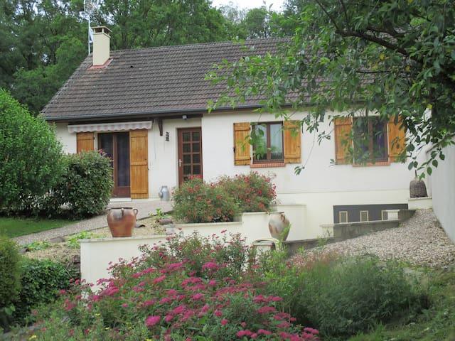 Maison agréable confort bien situé - Saint-Amand-en-Puisaye - Huis