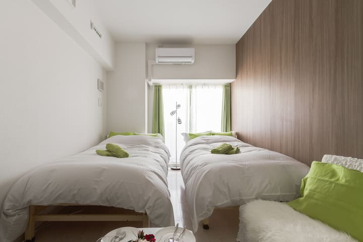 Brand-new apt near Dotombori, Best location ever! - Chuo Ward, Osaka - Huoneisto